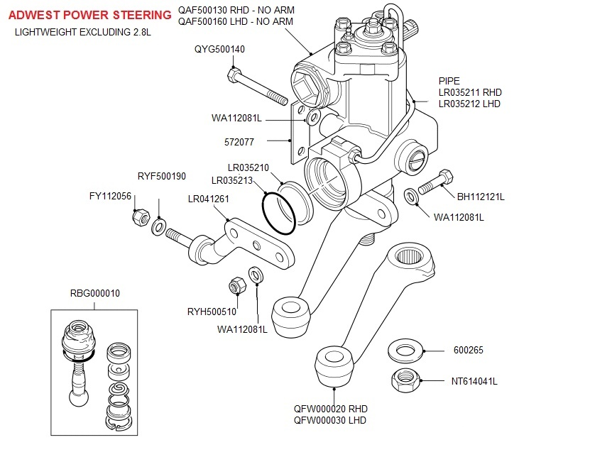 2001 land rover discovery suspension diagram