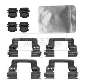 BBK1474 Stainless Steel Sliders for Pad Sets LR079935 LR065492
