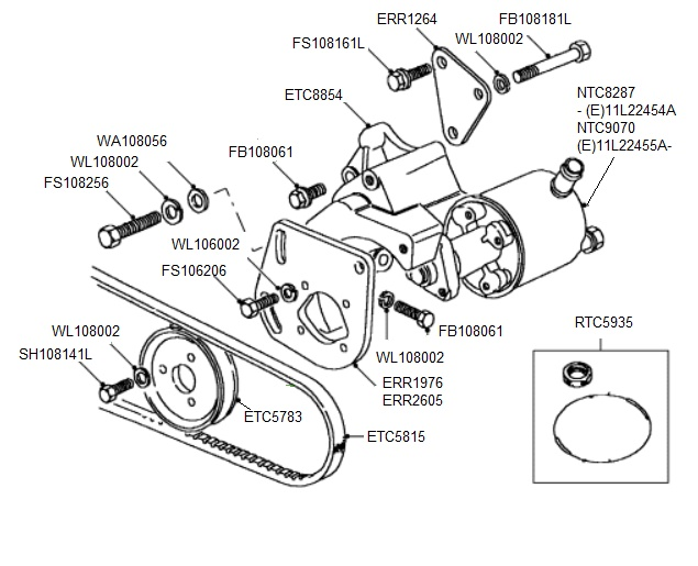 Tdi Power Steering Pump Defender Detail on 1996 Land Rover Discovery Wiring Diagram