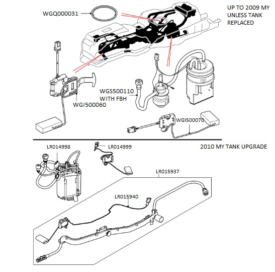 Fuel Pump Sender Unit 1620 C on fuel system design
