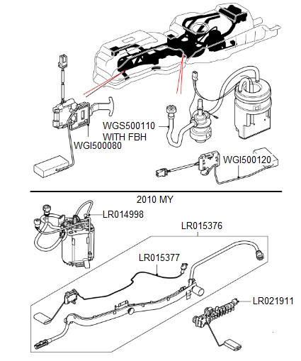Land Rover Discovery Fuel Pump Wiring Diagram