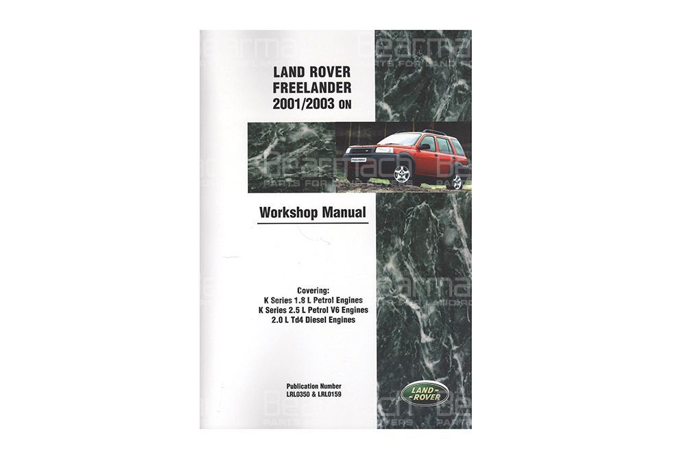 LRF2WH Freelander W/Shop Manual